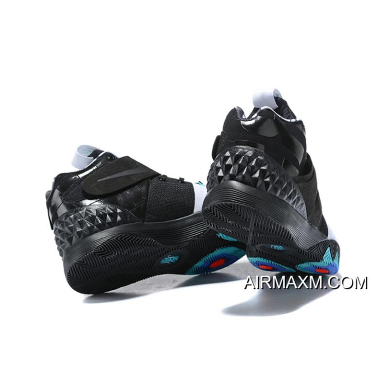 """7d478acb643 ... Nike Kyrie S1 Hybrid """"Opening Night"""" Black White Blue Free Shipping Top  Deals ..."""