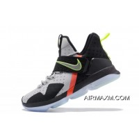 """Nike LeBron 14 """"Out Of Nowhere"""" Wolf Grey/Black-Volt-Bright Crimson Online"""