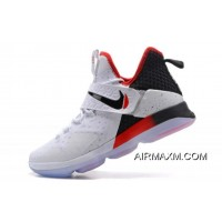 """For Sale Nike LeBron 14 """"Flip The Switch"""" Black/White-University Red 921084-103"""