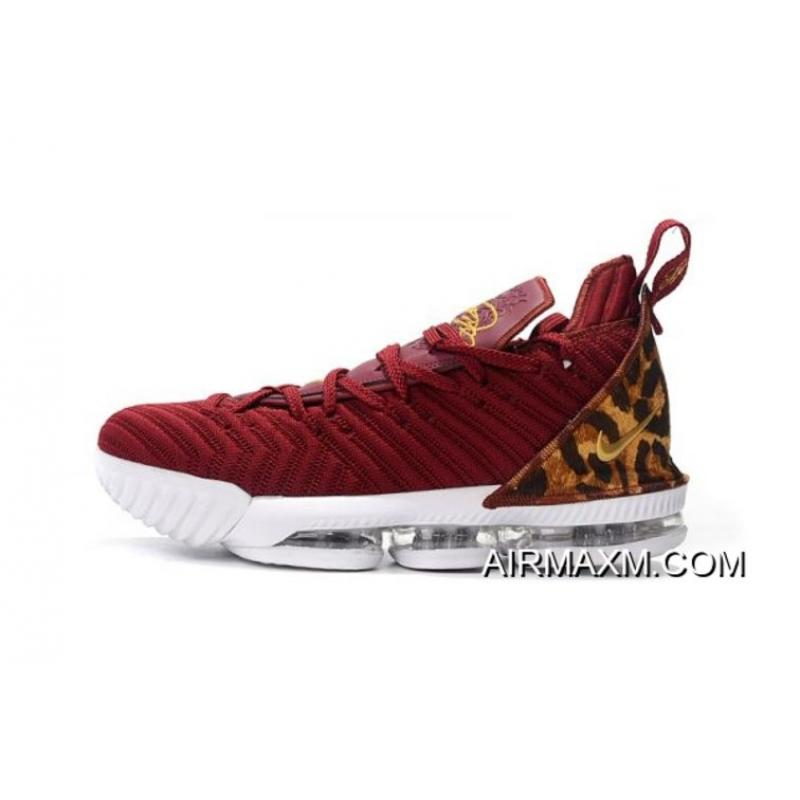 "0407944b6e1 Latest Nike LeBron 16 ""King"" Team Red Metallic Gold-Multi Color AO2588 ..."