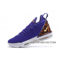 "Nike LeBron 16 ""King Court Purple"" Court Purple/Metallic Gold AO2588-500 Online"