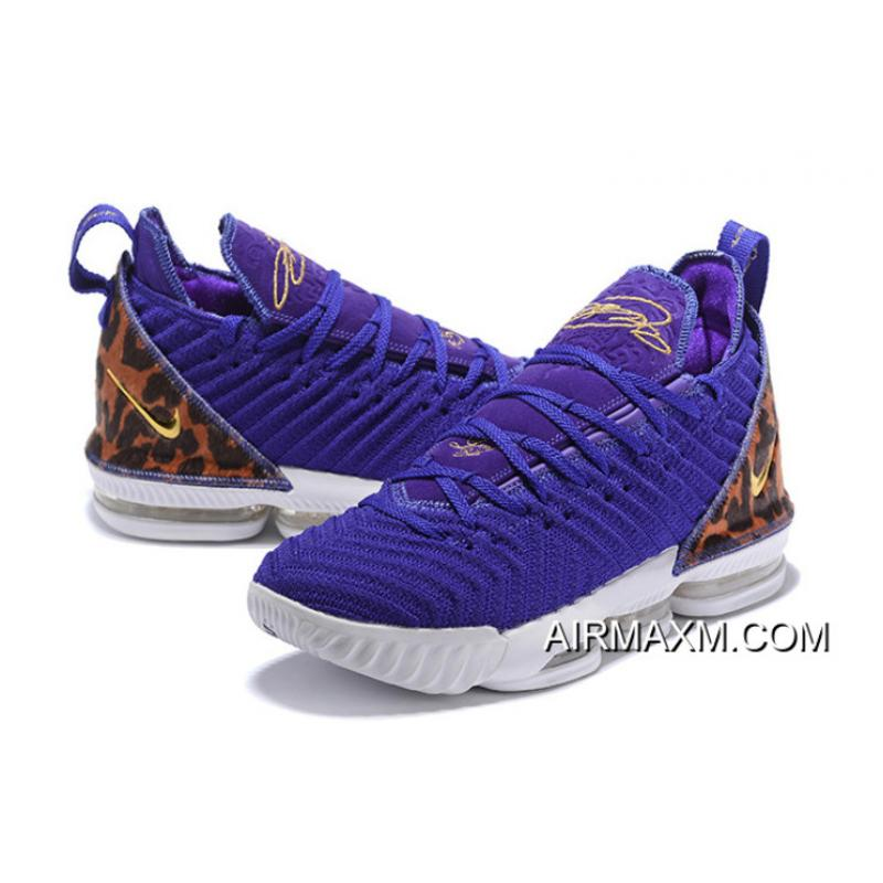 "4264e48d5ed49 ... Nike LeBron 16 ""King Court Purple"" Court Purple/Metallic Gold  AO2588-500 ..."