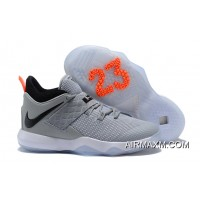 Nike LeBron Ambassador 10 Wolf Grey/Black-White Authentic