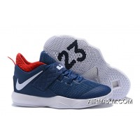 "Top Deals Nike LeBron Ambassador 10 ""USA"" Navy/White-University Red"