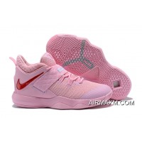 Where To Buy Nike LeBron Ambassador 10 'Kay Yow' Pink Red