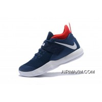 "Nike LeBron Ambassador 10 ""USA"" Navy White Red Free Shipping Tax Free"