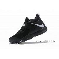 Super Deals Nike LeBron Ambassador 10 Black White AH7580-001