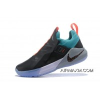 Latest Nike LeBron Ambassador 11 Black/Green-Red