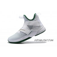 """Where To Buy Men's Nike LeBron Soldier 12 """"SVSM Home"""" White/Multi-Color AO2609-100"""
