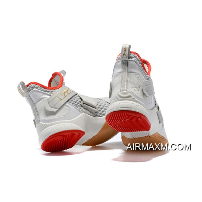 """f55471acb3a9 ... New Style Nike LeBron Soldier 12 """"Yeezy"""" Light Bone AO2609-002 Free  Shipping ..."""