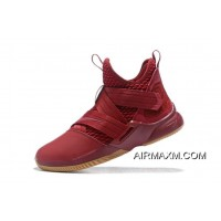 Where To Buy Nike LeBron Soldier 12 SFG EP Team Red/Gum AO4055-600