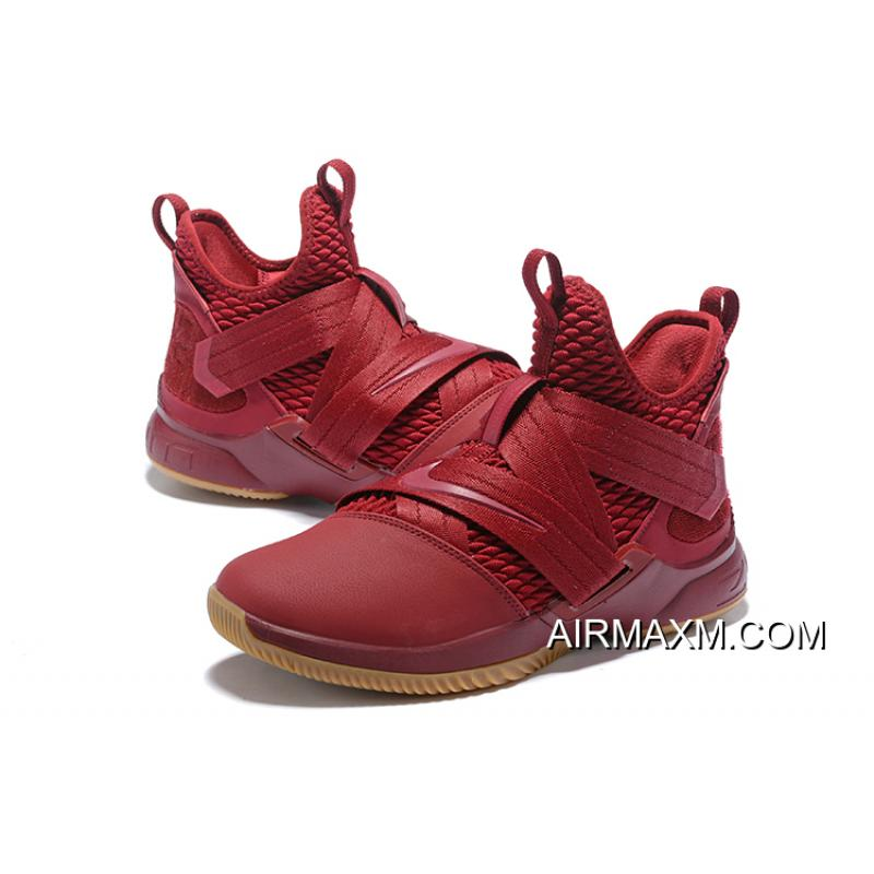 1c18eef1592 Nike Soldier XII SFG EP   AO4055-600   Men Basketball Shoes Lebron James  Team Red