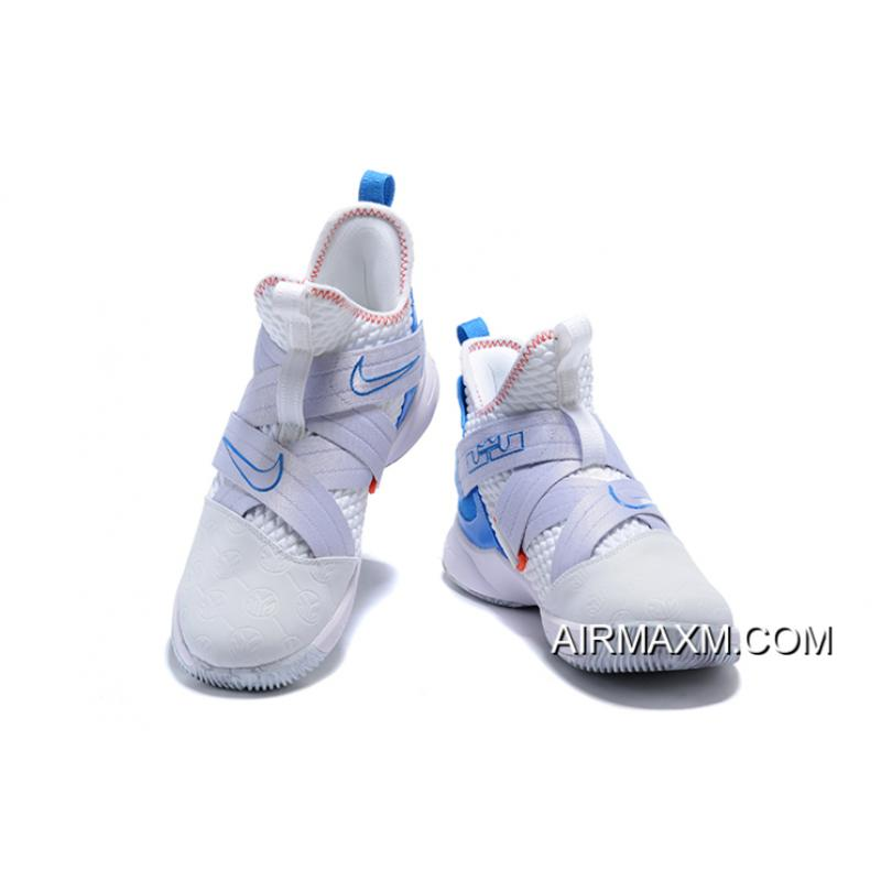 "c2c513fb557 ... Nike LeBron Soldier 12 ""Provence Purple"" Summit White Provence  Purple-Beach AO2609 ..."