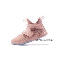Free Shipping Nike LeBron Soldier 12 XII EP Pink AO4055-900
