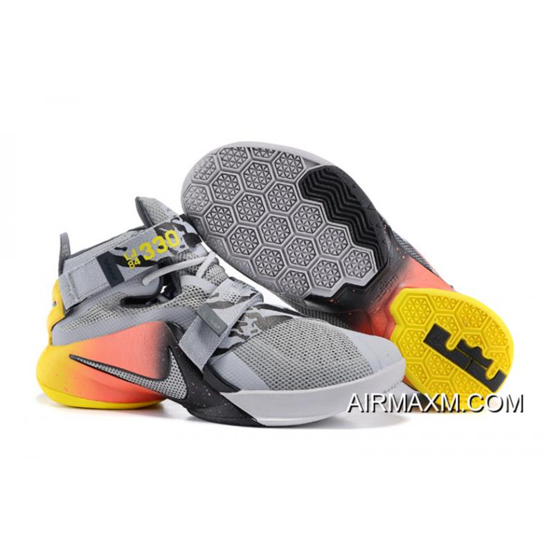 on sale a0c30 8be4f Outlet Men LeBron Soldier 9 Nike Basketball Shoes SKU:71902-357