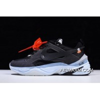 Off-White X Nike M2K Tekno Black/Grey-Light Blue Men's And Women's Size A03108-053 Best