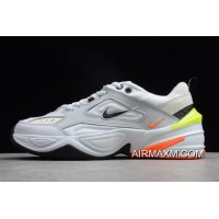 Women/Men Nike M2K Tekno Pure Platinum/Black-Sail-White AV4789-004 Authentic