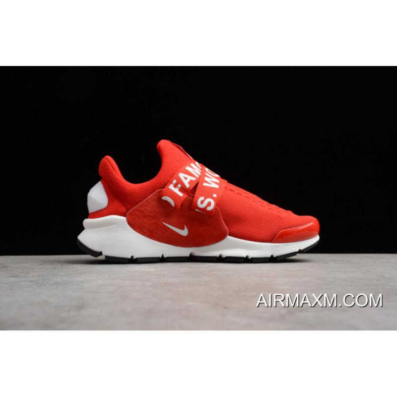 purchase cheap e733b 88a97 New Nike Sock Dart X Supreme White Red Men's And Women's Size Shoes  Authentic
