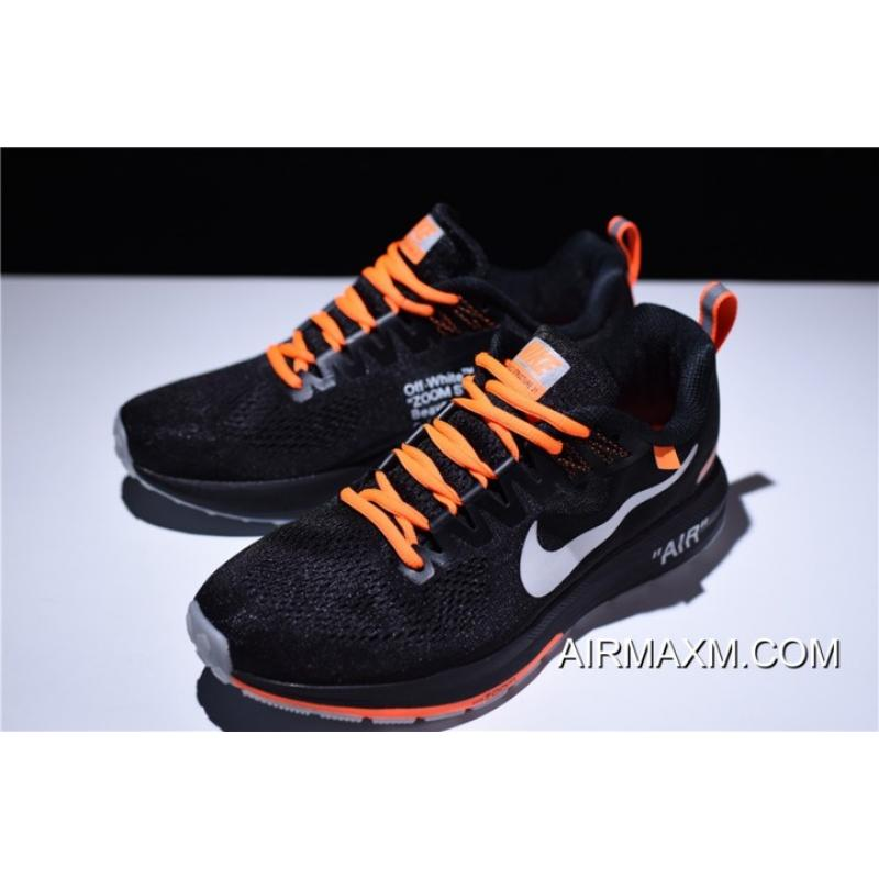 ... Big Deals Men s Off-White Virgil Abloh X Nike Air Zoom Structure 21  Black  ... 33fab267c5