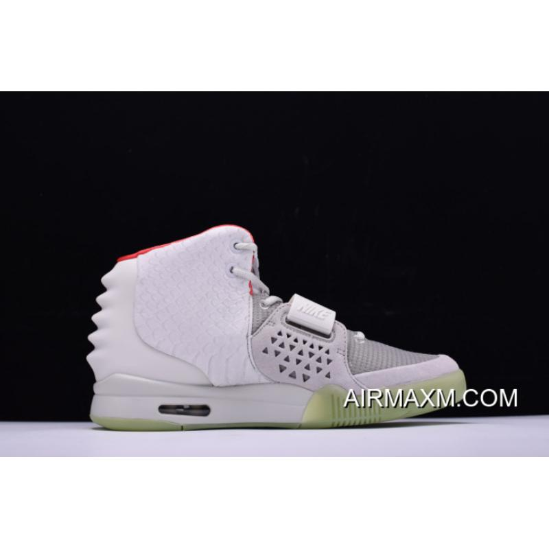 86cc53faa63a3 ... Nike Air Yeezy 2 NRG Wolf Grey Pure Platinum 508214-010 On Sale For ...