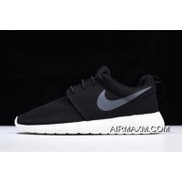 Nike Roshe One Black/Anthracite-Sail Running Shoes 511881-010 Big Deals