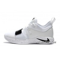 New Year Deals Nike PG 2.5 White Black Paul George Basketball Shoes