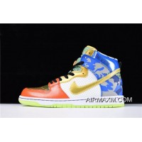 "Women/Men New Year Deals Mens And WMNS Nike SB Dunk High ""What The Doernbecher"" Free Shipping"