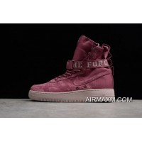 """Authentic Nike SF-AF1 High """"TVintage Wine"""" AJ1700-600 Men's And Women's Size"""