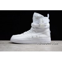 """Women/Men Mens And WMNS Nike SF-AF1 High """"Triple White"""" White/White-White 903270-100 For Sale"""