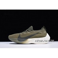 Men's Nike Vapor Street Flyknit Medium Olive/Sequoia AQ1763-201 New Year Deals