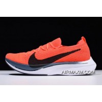Women/Men Nike Vaporfly Flyknit 4% Bright Crimson/Black AJ3857-601 Buy Now