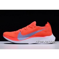 Women/Men For Sale Nike Zoom VaporFly 4% Flyknit Bright Crimson/Ice Blue AJ3857-600