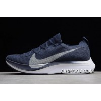 Women/Men Top Deals Nike Vapor 4% Flyknit Obsidian/Metallic Silver AJ3857-405
