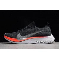 Nike Vaporfly 4% Flyknit Blue Fox/Black-Bright Crimson AJ3857-400 Online