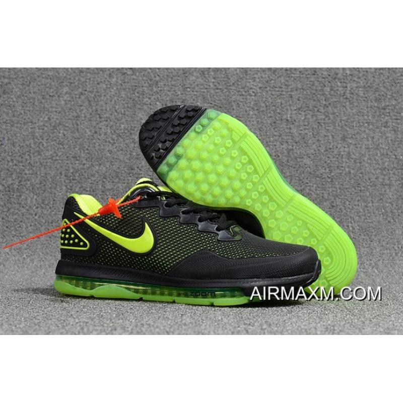4a90e4a02384c Nike Zoom All Out Low Black Green Free Shipping