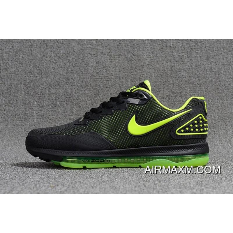 sale retailer 18e76 56cbd ... Nike Zoom All Out Low Black Green Free Shipping ...