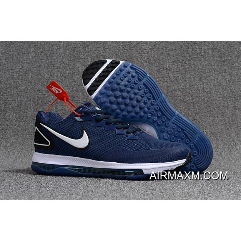 best website e0468 1ac38 Nike Zoom All Out Low Navy Blue White Free Shipping