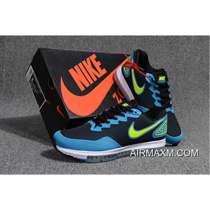 cheap for discount e07f5 bb2c9 ... Nike Zoom All Out Low Sky Blue Black Light Green White Super Deals ...
