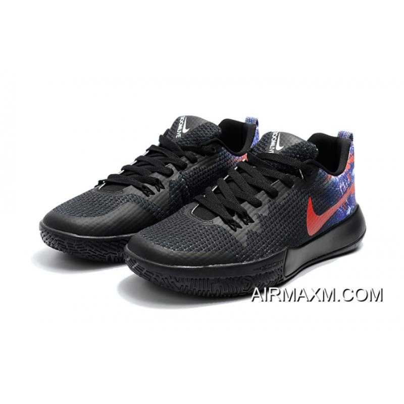 Big Deals Nike Zoom Live II EP BlackMulti Color Men's Basketball Shoes Free Shipping