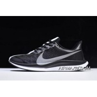 Women/Men Discount Nike Zoom Pegasus Turbo Black/Vast Grey-Gunsmoke-White AJ4115-001