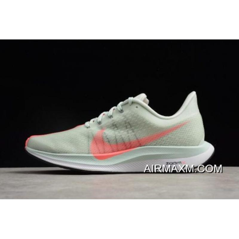 big sale 599d0 6e900 Women Men Nike Zoom Pegasus 35 Turbo 2.0 Barely Grey Hot Punch-White ...