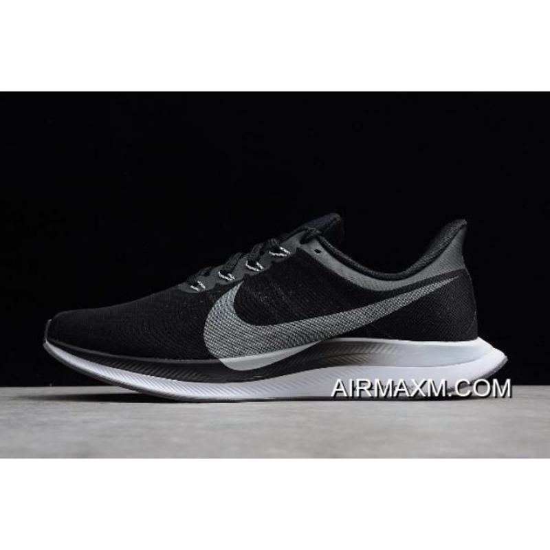 ccf421b4ae9f2 Women/Men Nike Air Zoom Pegasus 35 Turbo Black/Vast Grey-Oil Grey ...