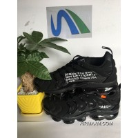 Men OFF-WHITE X Nike Air VaporMax 2018 Plus TN Running Shoes SKU:168435-441 New Year Deals
