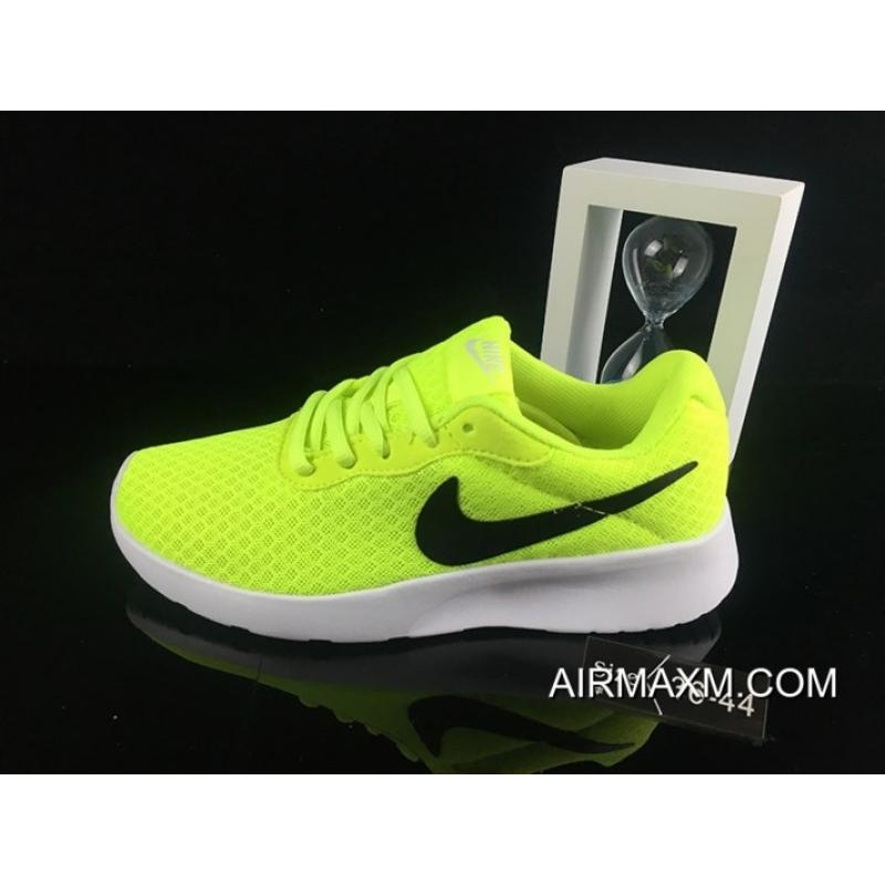 half off 4a143 8fe92 Women Nike Roshe Run 3 Mesh Green Black White For Sale ...