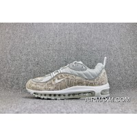 Top Deals Shipment Can Be Booked Two Days Forceful X Nike Air Max98 SUP Be Publishing Retro Zoom Running Shoes Men Shoes 844694-100