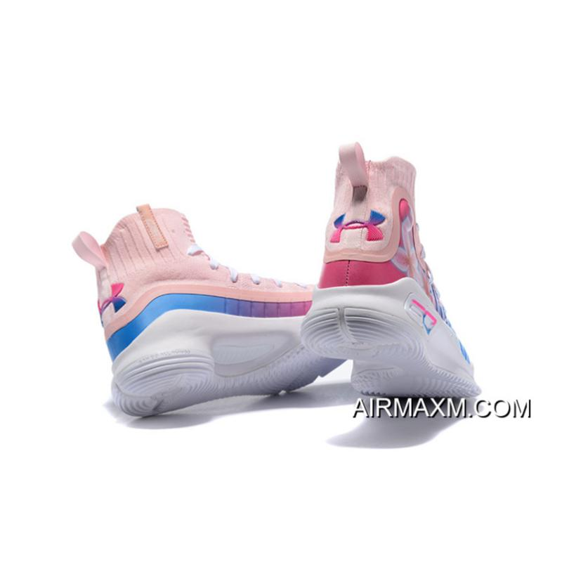 478c8a67c8a ... usa under armour curry 4 floral pink blue white mens basketball shoes  for sale 50e88 ce797