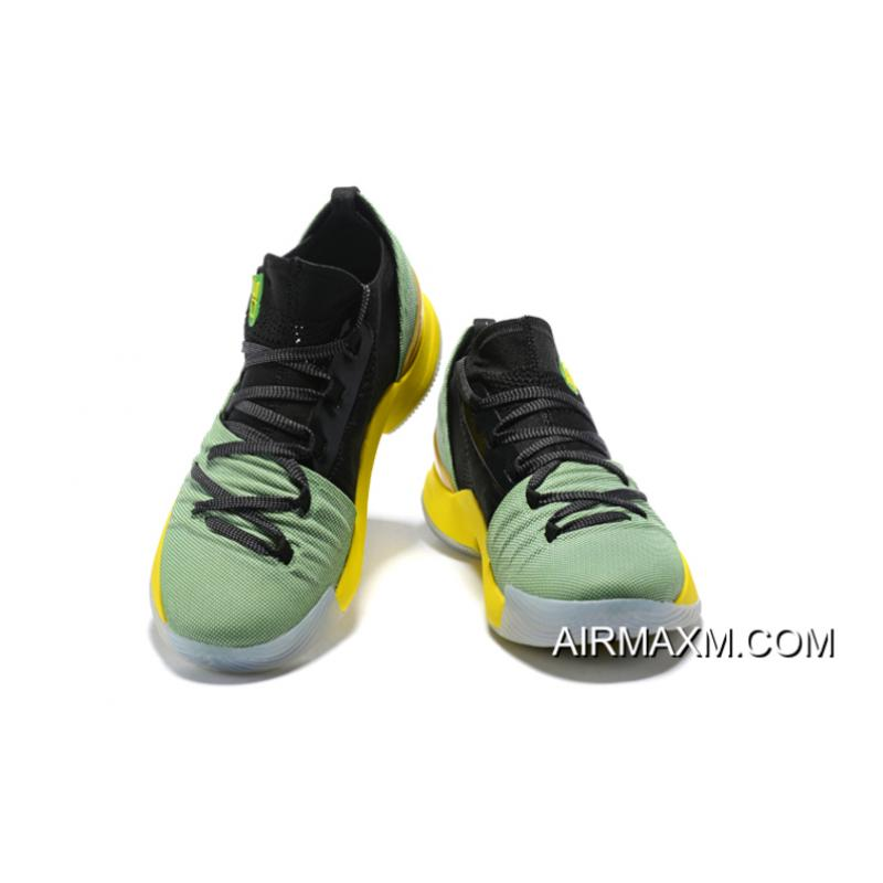 b05a64470d0b ... Under Armour Curry 5 Low Black Green Yellow Basketball Shoes Super  Deals ...
