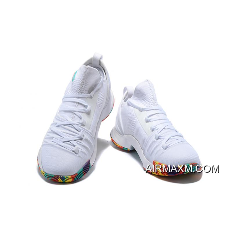 """40877b7c673 ... Under Armour Curry 5 """"NCAA March Madness"""" White/Multi-Color Free  Shipping ..."""