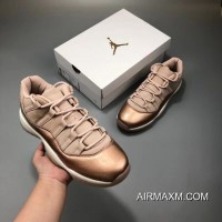 Women Air Jordan 11 Low Rose Gold Top Deals