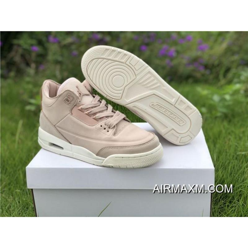 b4b42141af7 Women Air Jordan 3 Retro GS Particle Beige Online, Price: $89.24 ...